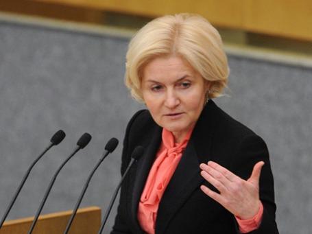 Заместитель председателя правительства РФ Ольга Голодец . Фото: РИА Новости