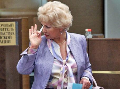 Людмила Нарусова. Фото: РИА Новости