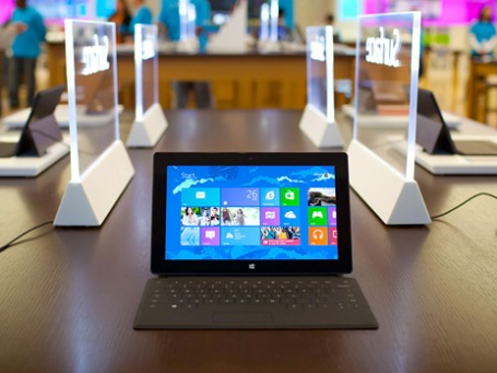 Планшетный компьютер Surface. Фото: Microsoft.com