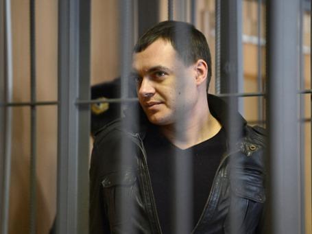 Алексей Русаков в Никулинском районном суде города Москвы. Фото: РИА Новости