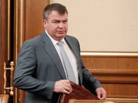 Экс-министр обороны Анатолий Сердюков. Фото: РИА Новости