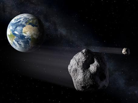 Астероид 2012 DA14.  Фото: NASA