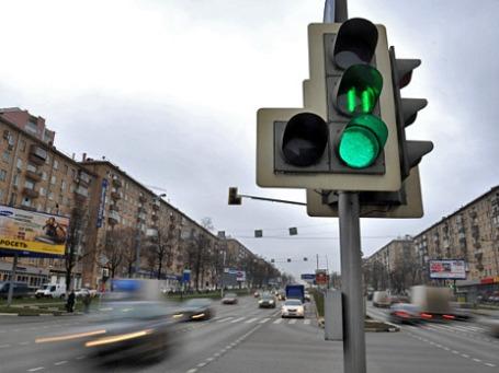 Вид на Ленинский проспект. Фото: РИА Новости