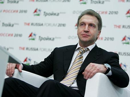 Игорь Шувалов. Фото: Григорий Собченко/BFM.ru