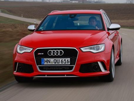 Audi RS6. Фото предоставлено пресс-службой.
