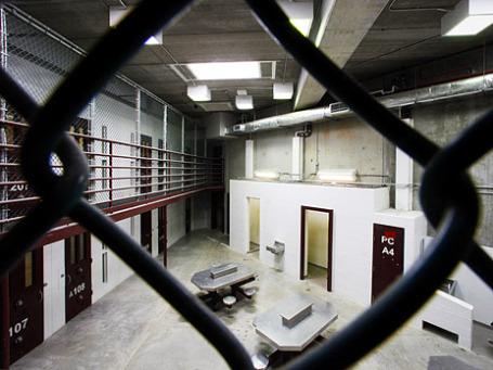Помещение тюрьмы в Гуантанамо. Фото: Reuters