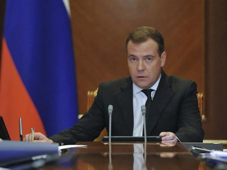 Премьер-министр Дмитрий Медведев. Фото: Reuters
