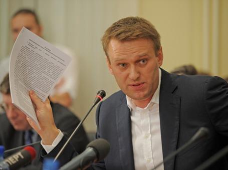 Блогер Алексей Навальный. Фото: Григорий Собченко/BFM.ru