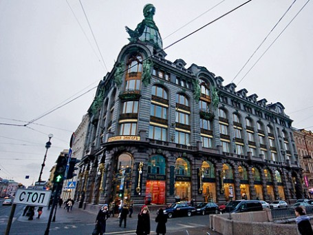 Здание Дома Зингера на Невском проспекте в Петербурге. Фото: gsz/flickr.com