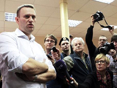 Оппозиционер Алексей Навальный. Фото: РИА Новости