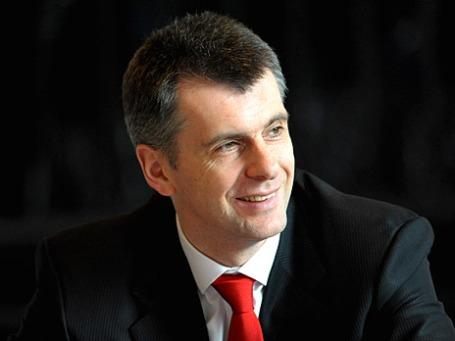 Бизнесмен и политик Михаил Прохоров. Фото: РИА Новости