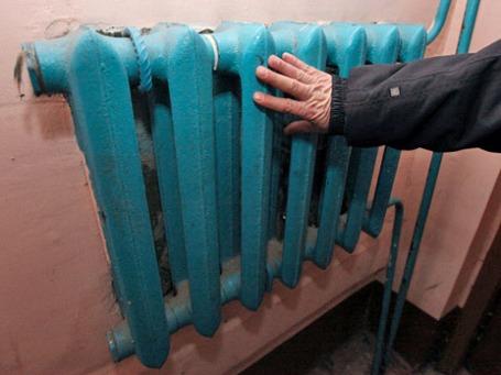 Батарея в одном  из жилых домов. Фото: РИА Новости