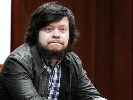 Константин Лебедев в зале заседаний Мосгорсуда перед оглашением приговора. Фото: РИА Новости