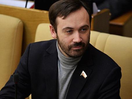 Депутат Илья Пономарев. Фото: РИА Новости