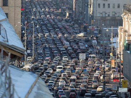 Дорожные пробки в Москве. Фото: РИА Новости