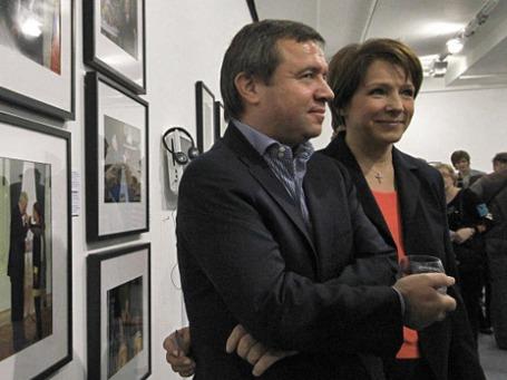 Дочь первого президента России Татьяна Юмашева с супругом, бывшим главой администрации первого президента России Валентином Юмашевым. Фото: РИА Новости