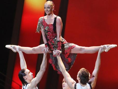 Балерина Анастасия Волочкова. Фото: РИА Новости