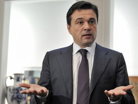 Исполняющий обязанности губернатора Московской области Андрей Воробьев. Фото: РИА Новости
