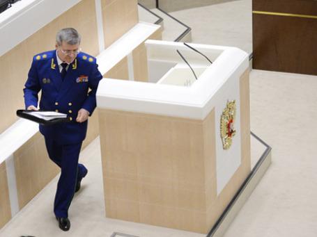 Генеральный прокурор РФ Юрий Чайка. Фото: РИА Новости
