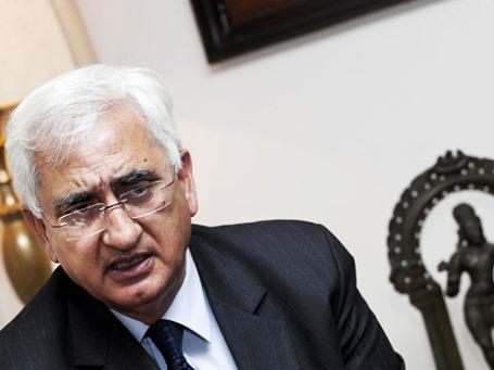 Глава МИД Индии Салман Хуршид. Фото: Reuters