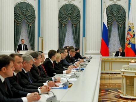 Заседание правительства РФ. Фото: РИА Новости