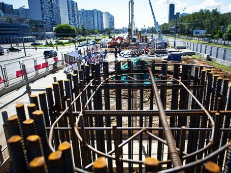 Реконструкция магистрали Рублевское шоссе – Балаклавский проспект от МКАД до Варшавского шоссе. Фото: РИА Новости