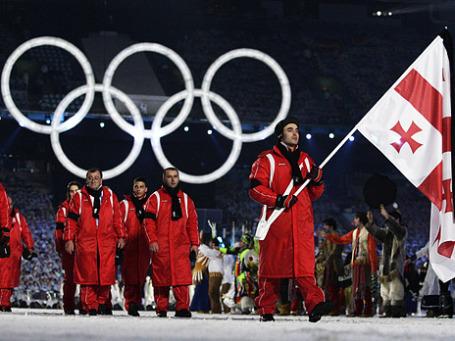 Спортсмены из Грузии. Фото: Reuters