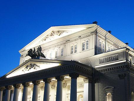 Большой театр в Москве. Фото: ⒪cular/flickr.com