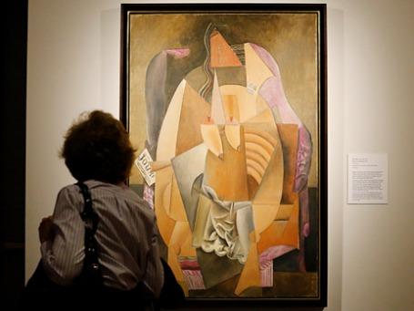 «Женщина в кресле» Пабло Пикассо, 1913. Фото: Reuters