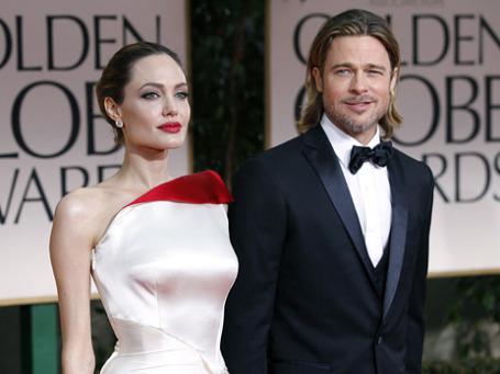 Анджелина Джоли и Бред Питт. Фото: Reuters
