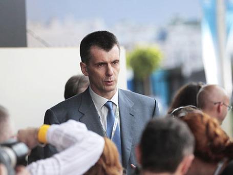 Бизнесмен и политик Михаил Прохоров. Фото: Reuters