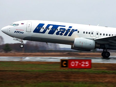 Самолёт компании Utair. Фото: sashapo/flickr.com