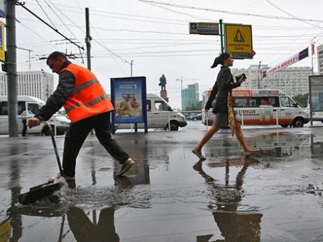 Москва после дождя. Фото: РИА Новости