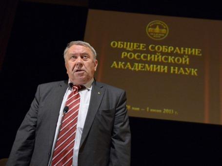 Избранный президент РАН Владимир Фортов. Фото: РИА Новости
