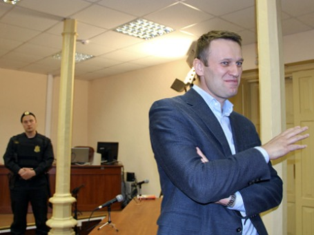 Оппозиционный блогер Алексей Навальный. Фото: РИА Новости