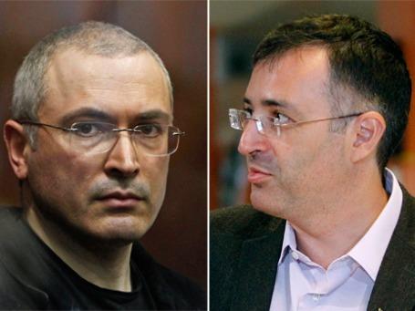 Михаил Ходорковский (слева) и Сергей Гуриев. Фото: Reuters