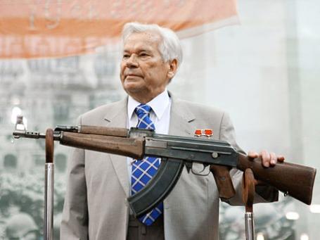 Конструктор Михаил Калашников. Фото: РИА Новости