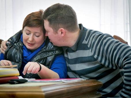 Бизнесмен Алексей Козлов с супругой, журналисткой Ольгой Романовой. Фото: РИА Новости