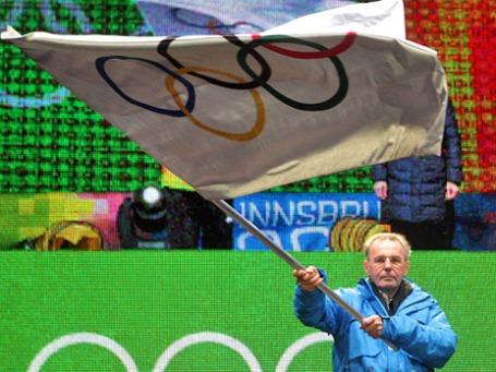 Президент Международного олимпийского комитета (МОК) Жак Рогге. Фото: РИА Новости