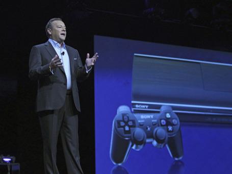 Директор Sony Computer Entertainment America Джек Третт на открытии ежегодной выставке-шоу индустрии видеоигр E3. Фото: Reuters