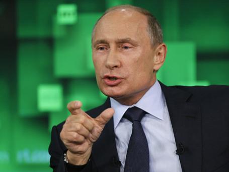 Президент РФ Владимир Путин. Фото: Reuters