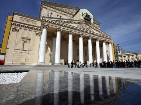 Фасад Государственного академического Большого театра России. Фото: РИА Новости