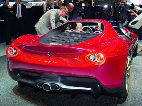 PININFARINA Sergio Concept. Фото: salon-auto.ch