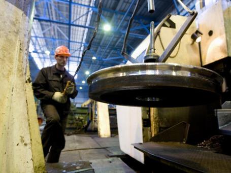 Металлургический комбинат компании «Евраз Груп С.А». Фото: РИА Новости