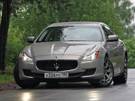 Maserati Quattroporte. Фото: Алексей Аксенов/BFM.ru