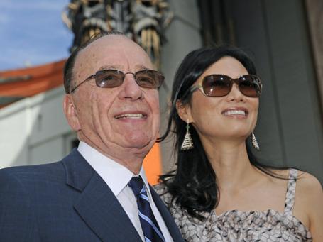 Руперт Мердок со своей третьей женой Вэнди Дэн. Фото: Reuters