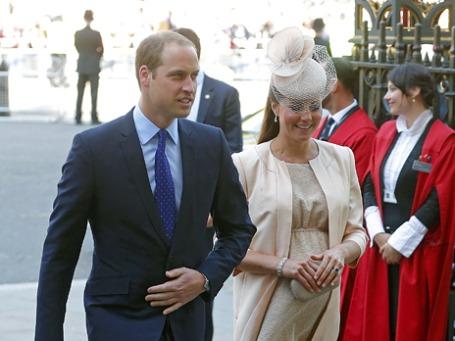 Принц Уильям и  герцогиня Кембриджская Кейт. Фото: Reuters