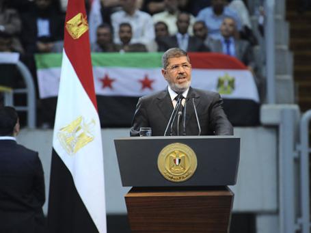 Президент Египта Мухаммед Мурси заявил о разрыве дипломатических отношений с Сирией. Но Египет не будет отправлять войска в Сирию.  Фото: Reuters