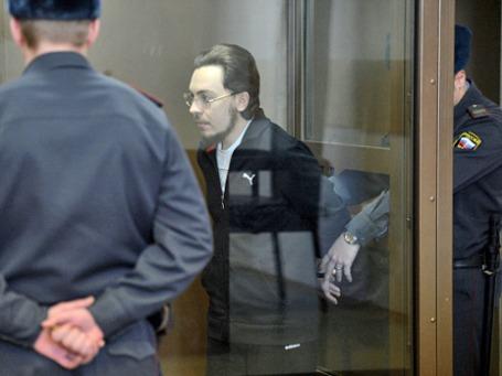 Иеромонах Илия (Павел Семин), обвиняемый в совершении ДТП на Кутузовском проспекте. Фото: РИА Новости