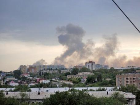 На испытательном полигоне в Чапаевске Самарской области произошло несколько взрывов. Фото: РИА Новости